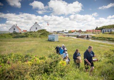 Snapseriet rundtur i marken Løgstør